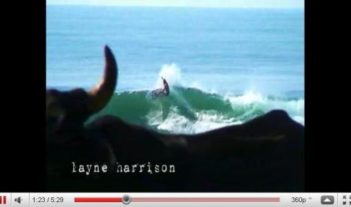 Reef surf movie from when these pro surfers were here visiting the point.